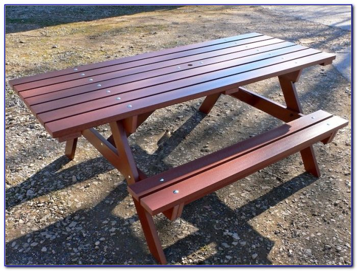 Recycled Plastic Picnic Table Uk