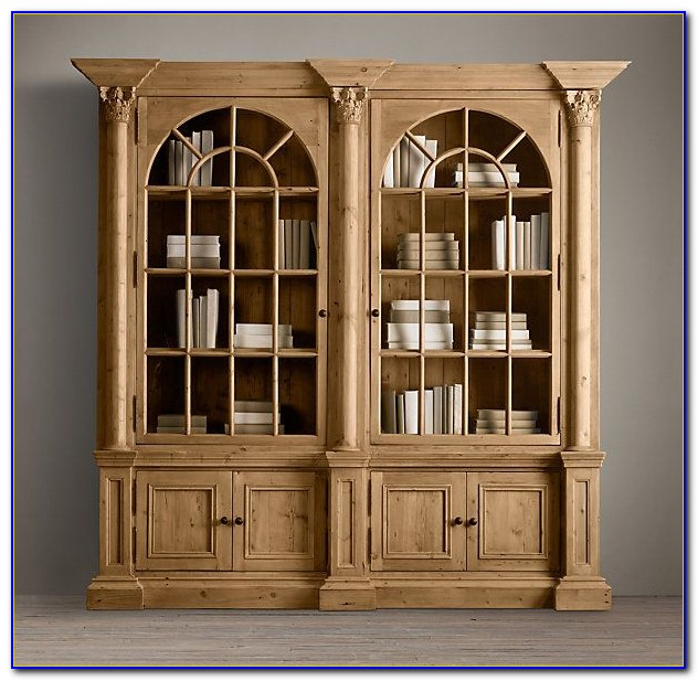 Restoration Hardware Bookcase Used