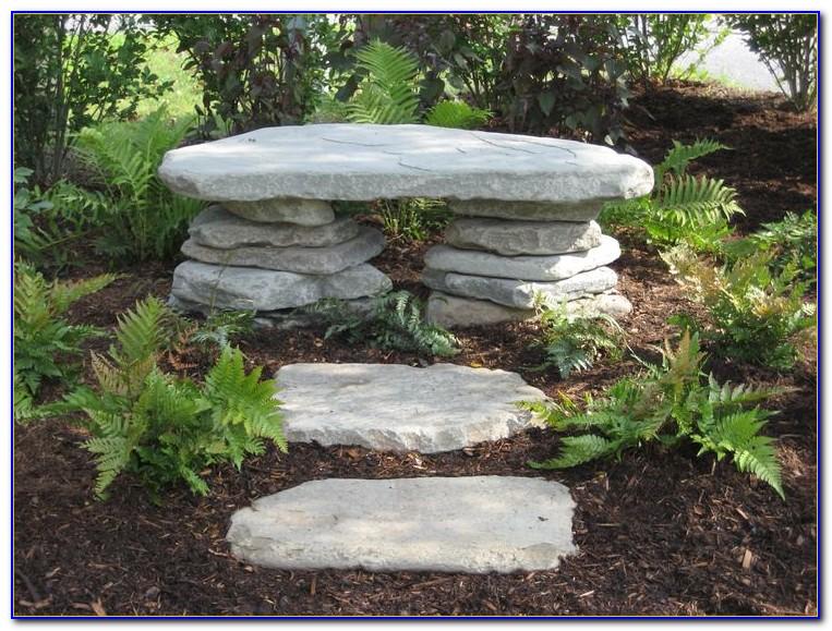 Rock Benches For Garden