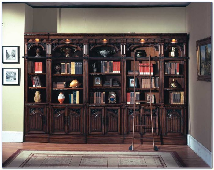 Rotating Library Bookcase Wall Bed