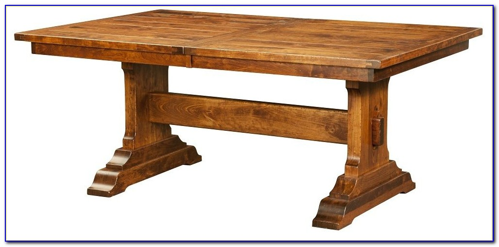 Rustic Bench Seat Dining Table
