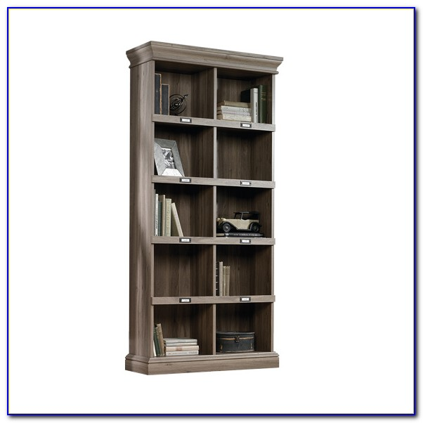 Sauder Barrister Bookcase 4 Glass Door