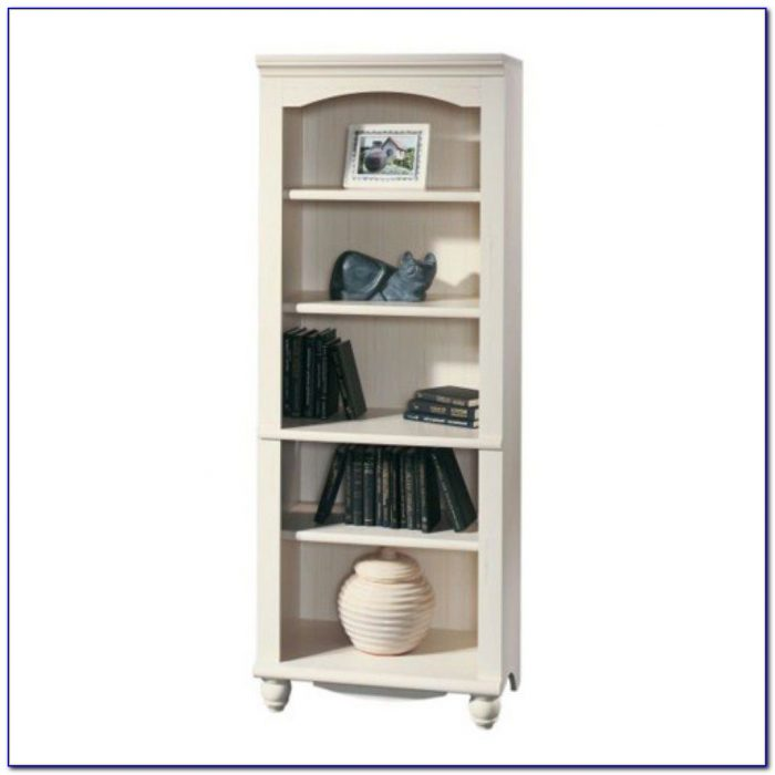 Sauder Harbor View Bookcase With Doors Bookcase Home
