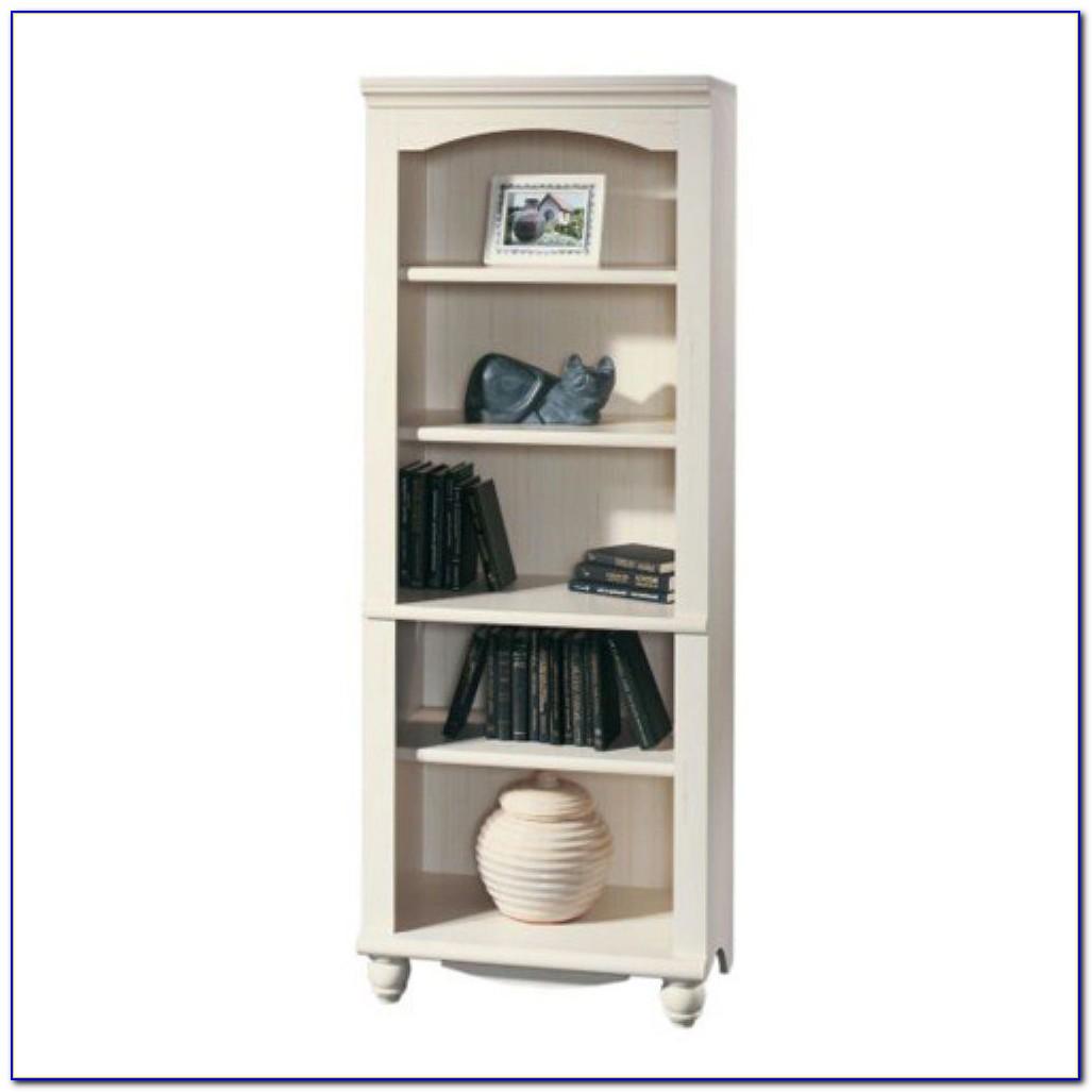 Sauder Harbor View Bookcase With Doors Antique White Furniture - Sauder Harbor View Bookcase Antique White Tyres2c