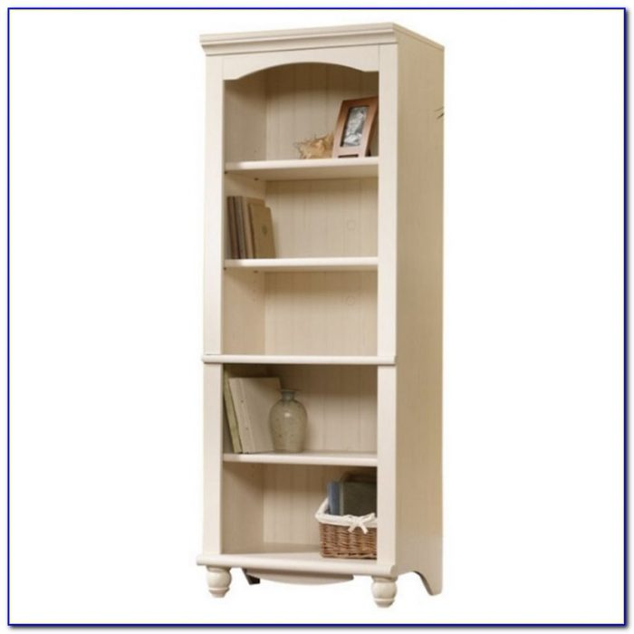Sauder harbor view bookcase with doors bookcase home for Oak harbor furniture