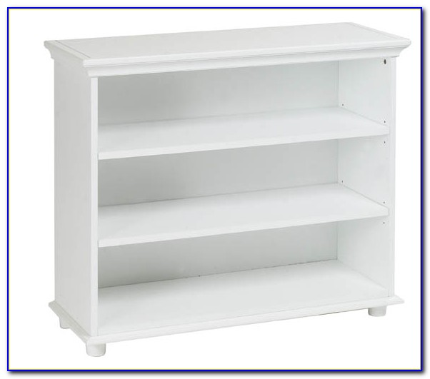 Sauder White 3 Shelf Bookcase