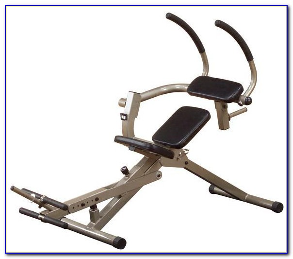 Semi Recumbent Ab Bench