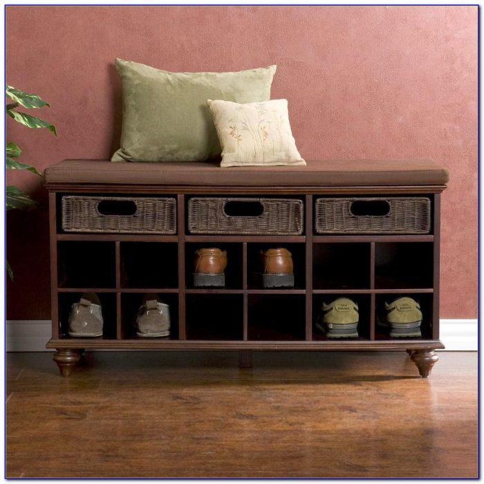 Shoe Benches And Storage