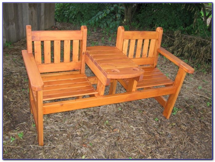 Simple Outdoor Wood Bench Designs
