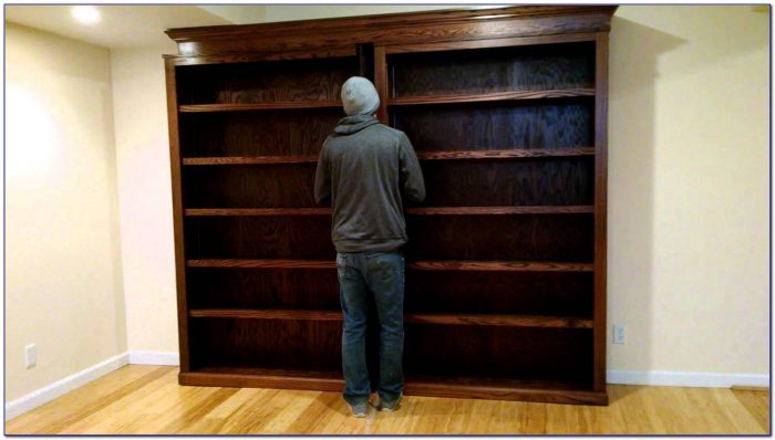 Bookcase Murphy Bed Sliding Bookcase Home Design Ideas