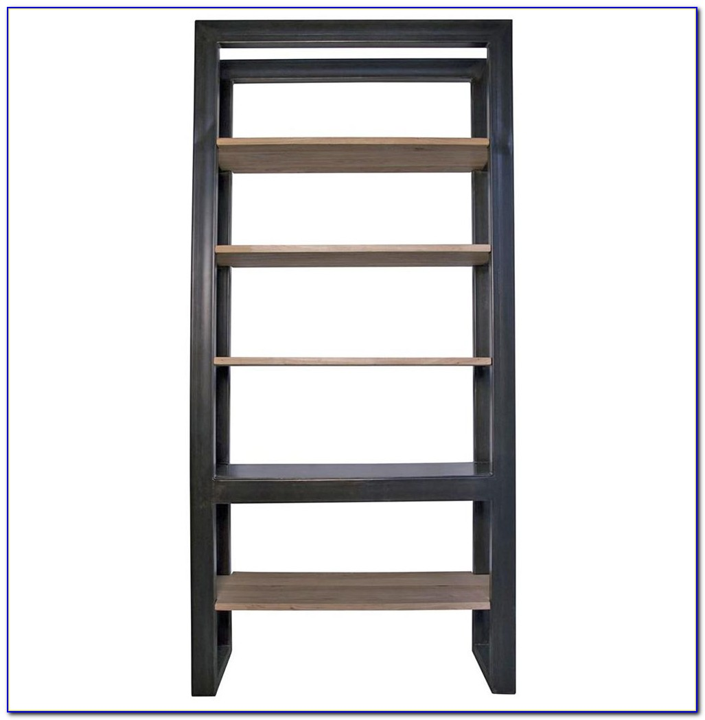 Small Bookcase With Baskets
