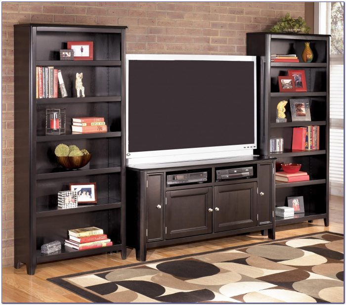 Small Tv Stand Bookcase