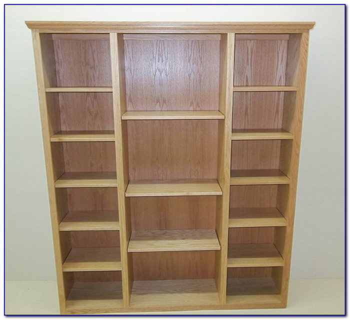 Solid Dark Wood Bookcases Bookcase Home Design Ideas