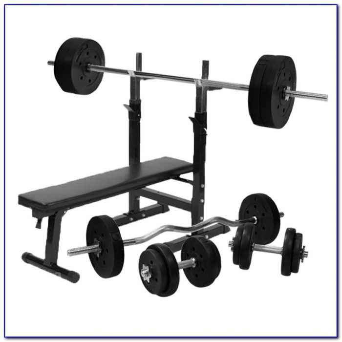 Sport Xlnce Weight Bench And Weight Set