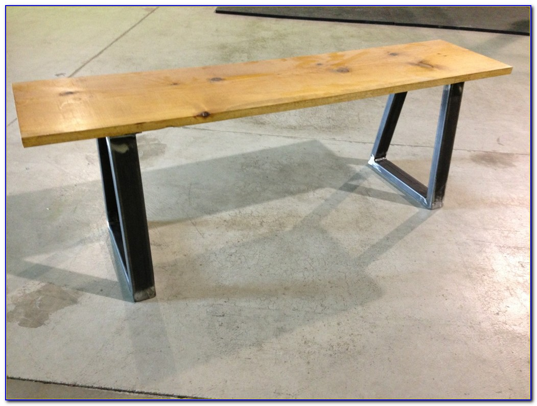 Steel Workbench Legs