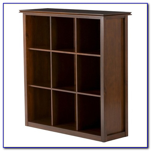 Target Storage Bookcase: Wooden Cube Storage Bookcase