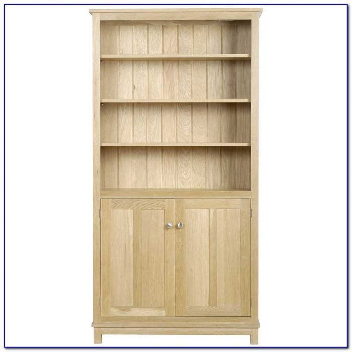 Tall Corner Bookcase With Doors