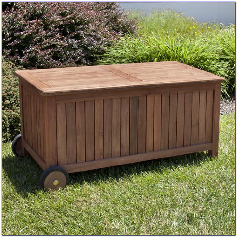 Teak Bathroom Bench With Storage