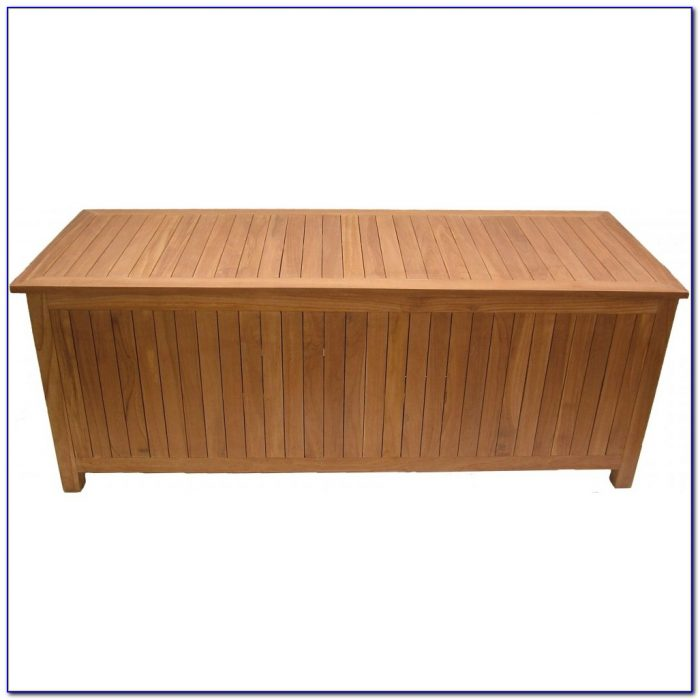 Teak Garden Bench With Storage