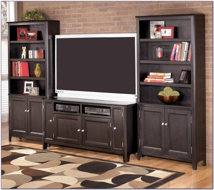 Tv Stand Bookshelf Combo