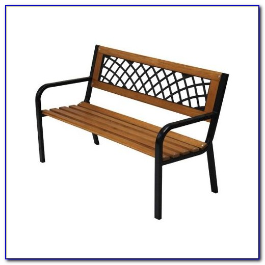 Two Seater Metal Garden Benches