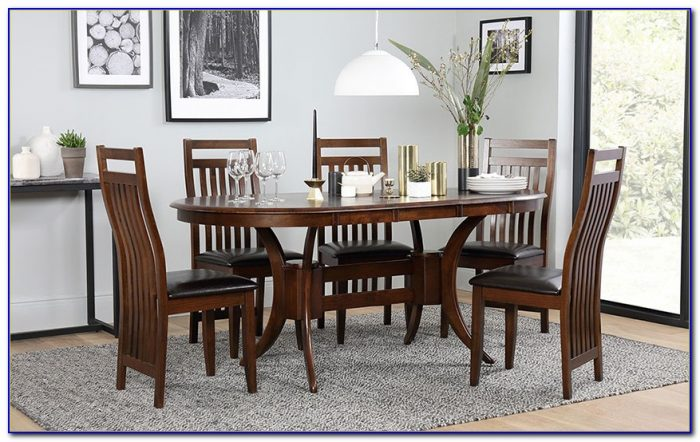 Upholstered Dining Chairs And Bench