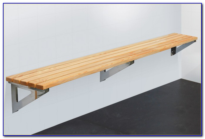 Wall Mounted Folding Seating Bench