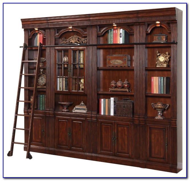Wall Unit Bookcase Fireplace
