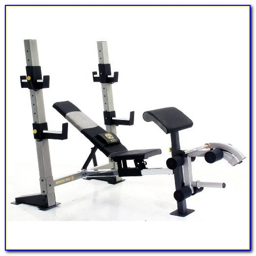 Weight Bench Gold's Gym Xrs 20