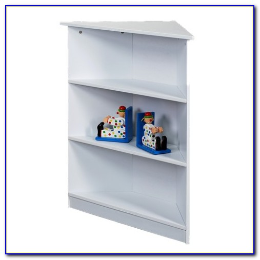 White Corner Bookcase Target