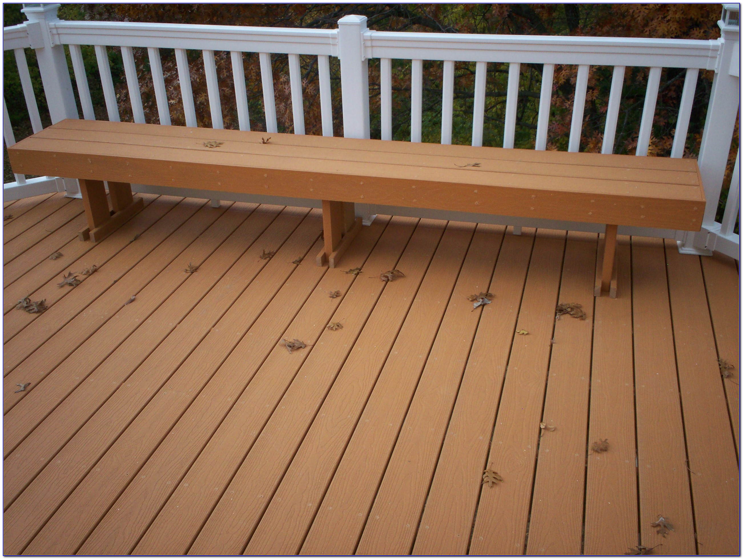 Wood Bench Designs For Decks