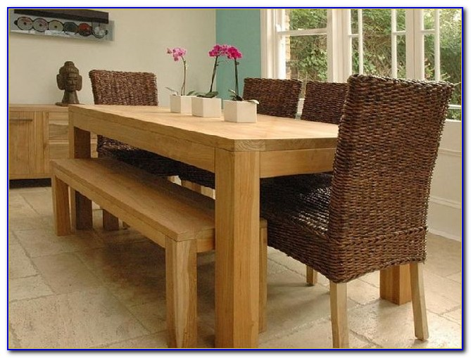 Wooden Dining Room Benches