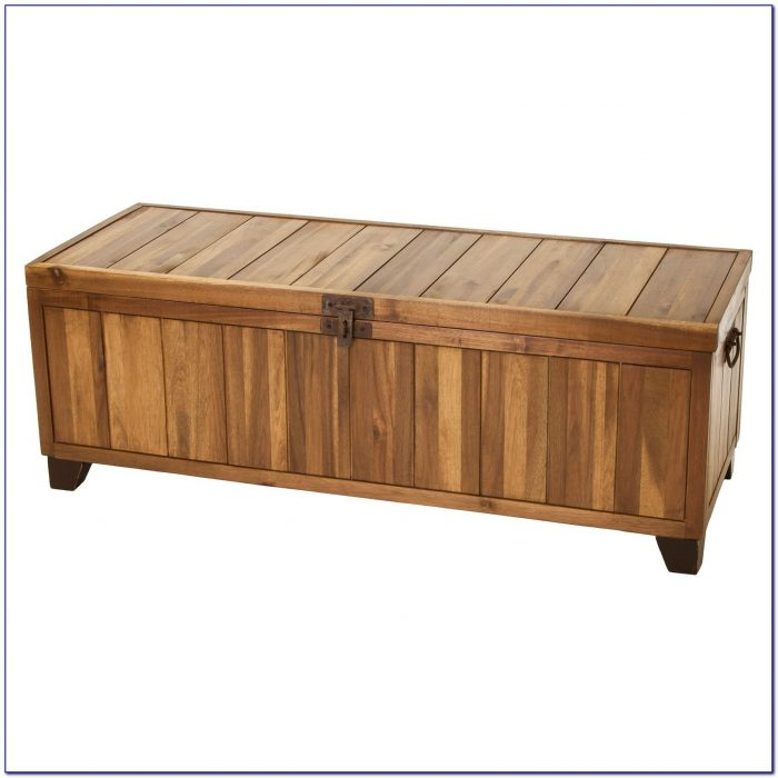 Wooden Storage Bench Seat Outdoor