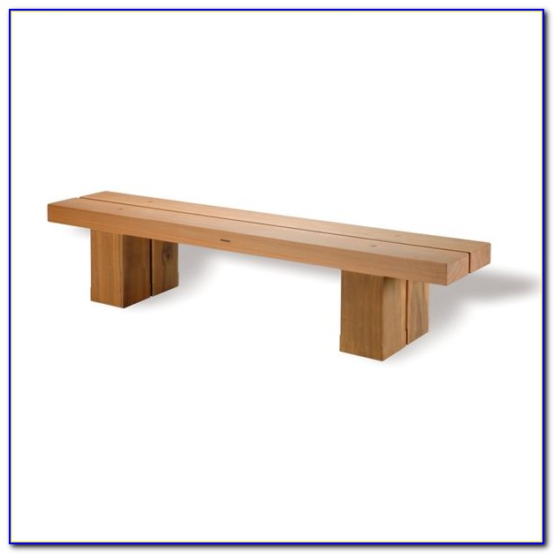 Wooden Three Seater Garden Benches