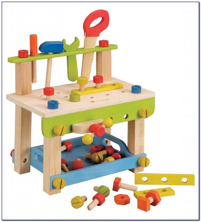Wooden Workbench Toy