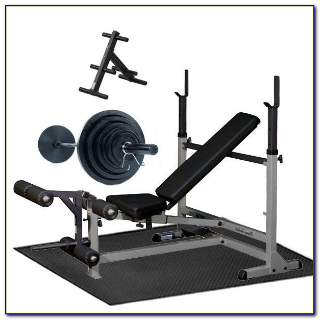 Workout Bench And Weights Package