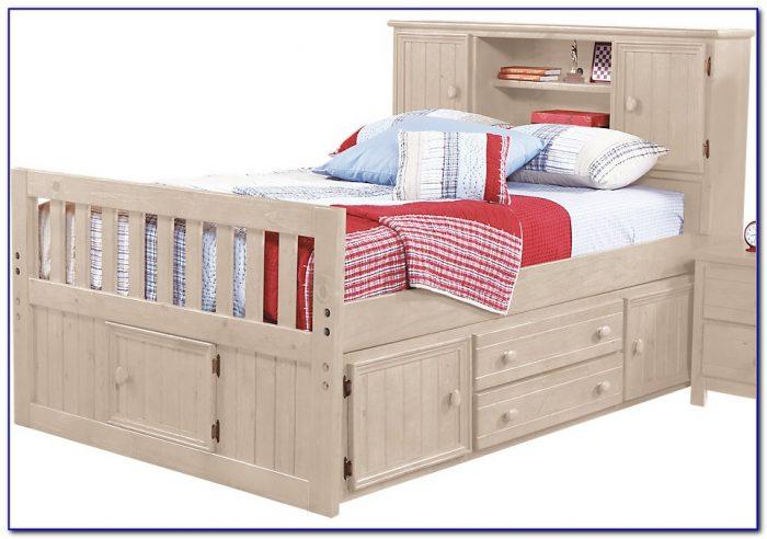 Zayley Bookcase Storage Bed Full