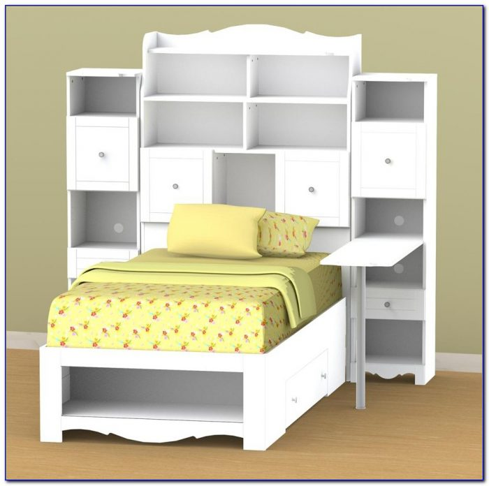 Zayley Full Bookcase Bed Canada
