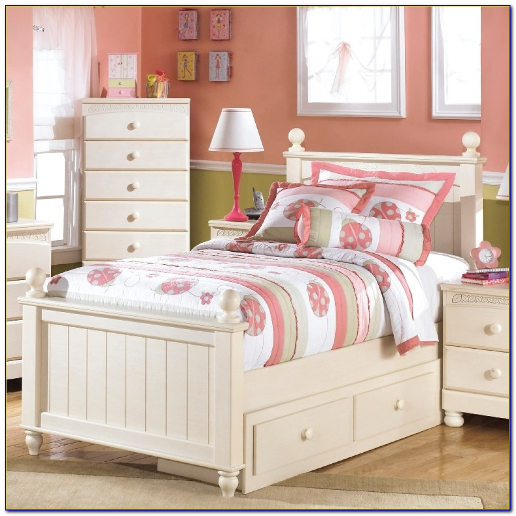 Zayley Full Bookcase Bed In White