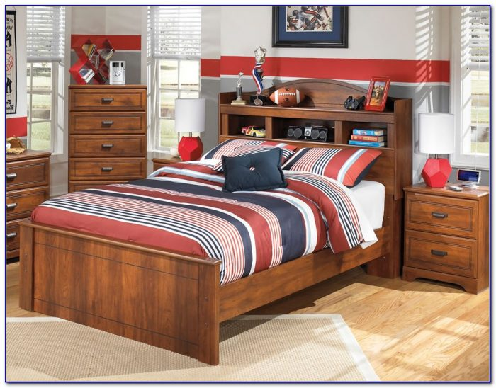 Ashley Zayley Bookcase Storage Bed Twin