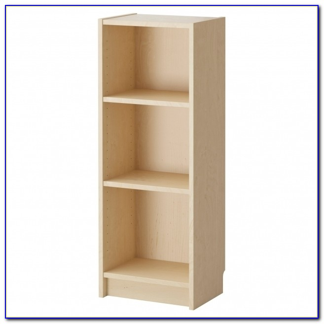 12 Inch White Bookcase