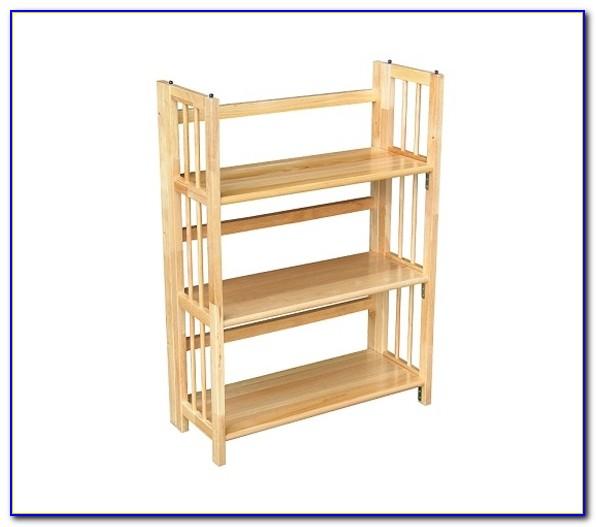 3 Tier Folding Bookshelf