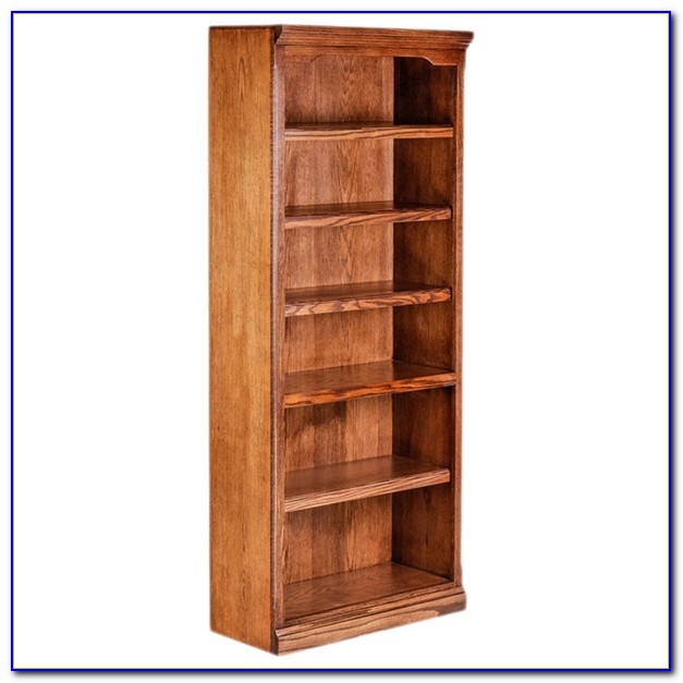 30 Inch High White Bookcase