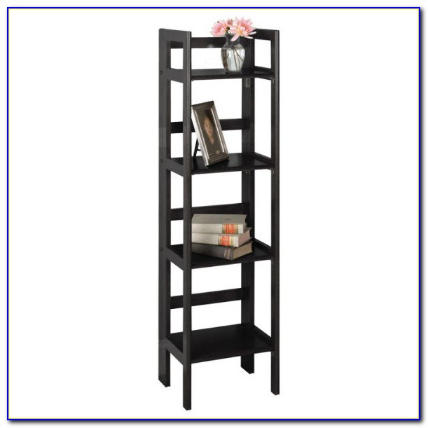 4 Shelf Folding Bookcase