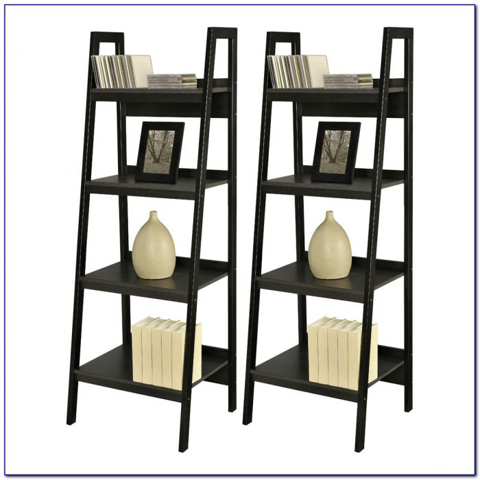 Altra Ladder Bookcase With Desk