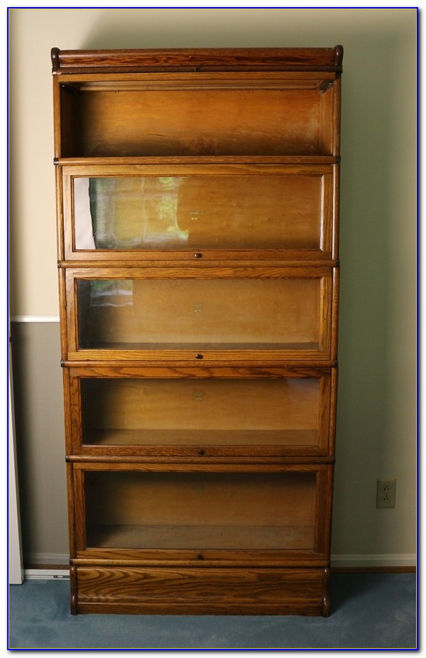 Antique Barrister Bookcase Chicago