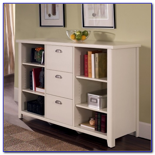 Billy Bookcase Filing Cabinet