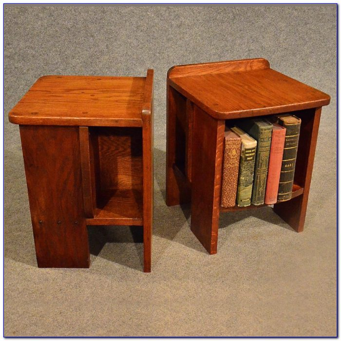 Bookcase Bedside Table