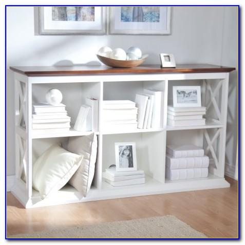 Bookcase Console Table
