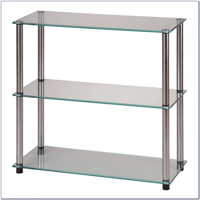 Bookcase Glass Shelves